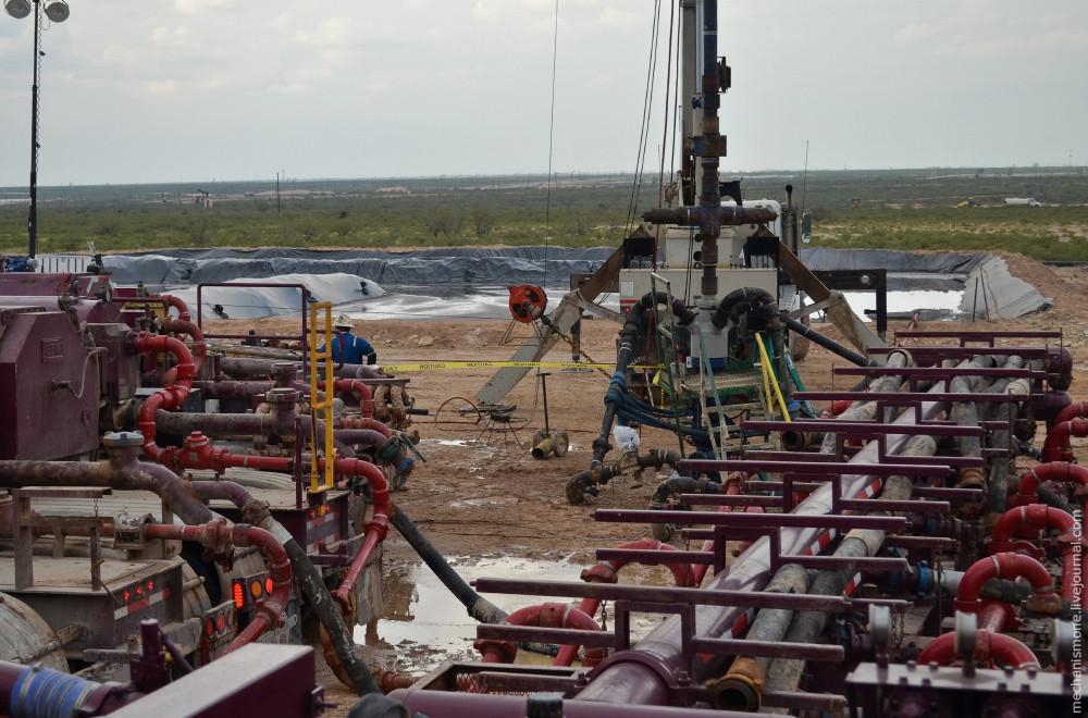 Очистка воды для операций по гидроразрыву пласта (ГРП)