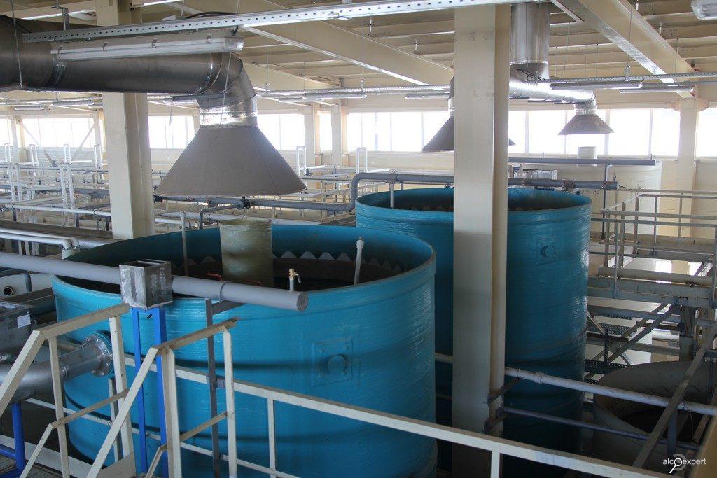 Очистка стоков спиртовых заводов