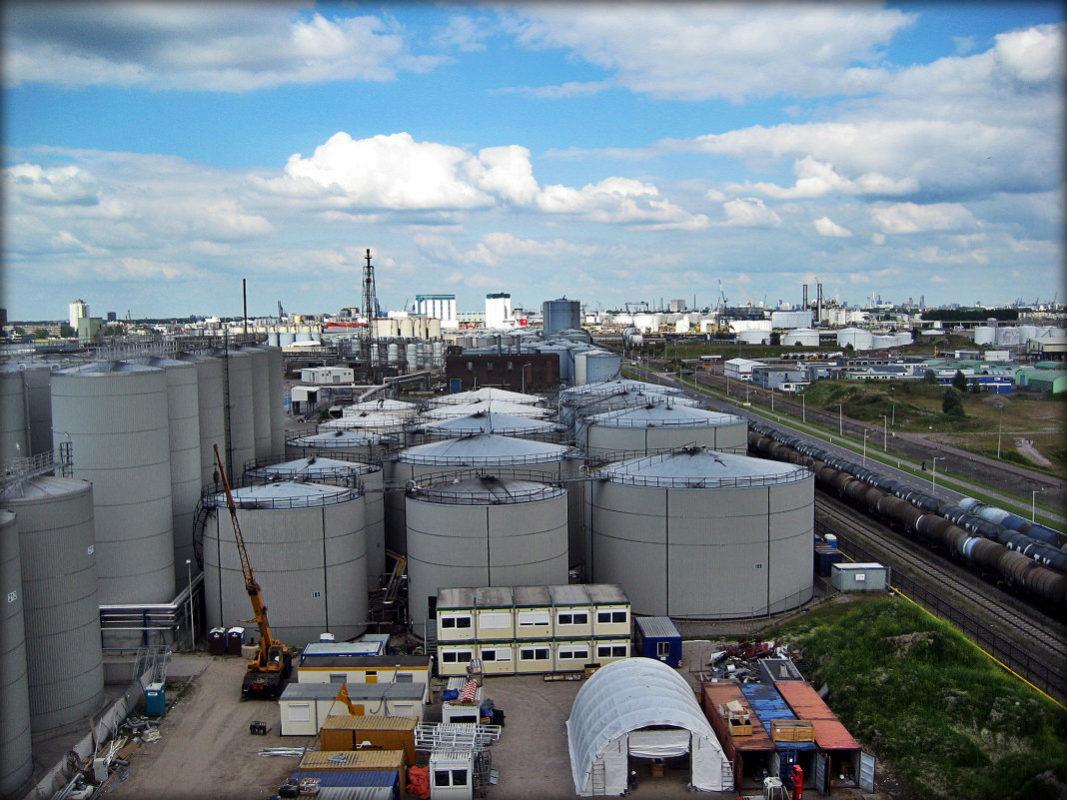 Обезвреживание газовоздушных выбросов жиркомбинатов